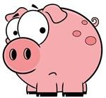 Cartoon Pouty Pig