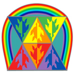 Turtle Triangle Rainbow