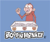 Stoopid Monkey Kitty Litter