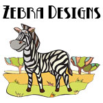 Cute Zebra Designs