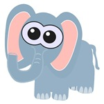 Cute Little Goofkins Elephant