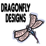 Cute & Pretty Dragonfly Designs