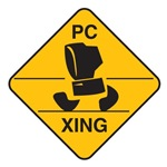 Computer Crossing (Pc Xing) Sign