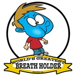 WORLDS GREATEST BREATH HOLDER