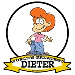 WORLDS GREATEST DIETER FEMALE II CARTOON