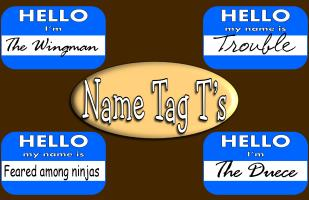 Name Tag T's