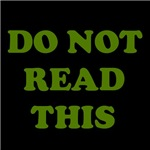 Do Not Read This