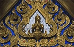 Buddist Motif In High Relief