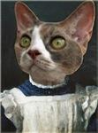 Cat in Pinafore