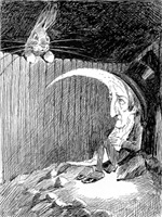 The Rabbit and the Moon