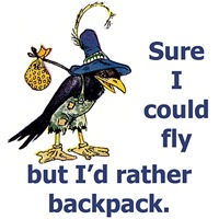 Backpacking Crow
