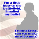 Soldier Votes Must Count