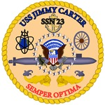 T-shirts, hats, stickers & gifts with the USS Jimmy Carter