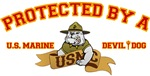 T-shirts, hats, mugs, stickers and gift items for the Marine Wife