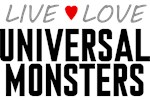 Live Love Universal Monsters