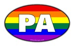 Rainbow Gay Pride Flag PA