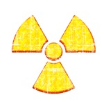 Vintage Radioactive Symbol 2