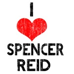 Vintage I Heart Spencer Reid