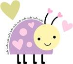 Purple Ladybug