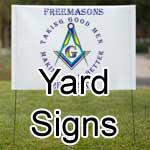 Masonic Yard Signs- Banners
