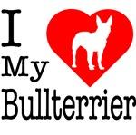 I Love My Bullterrier