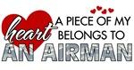 A piece of my heart belongs to an Airman