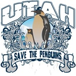 Save the Penguin Utah T-Shirts and Gifts