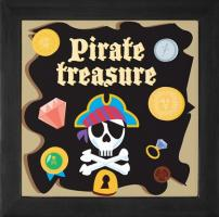 Pirate Treasure Chest /  Keepsake Box