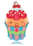 Kawaii Cherry Cupcake