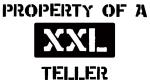 Property of: Teller