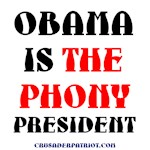 OBAMA is THE PHONY PRESIDENT