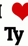 I Love Ty