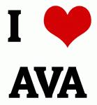 I Love AVA