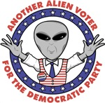 ANOTHER ALIEN VOTER FOR THE DEMOCRATIC PARTY