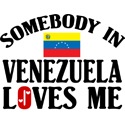 Somebody In Venezuela T-shirt