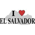 I Love El Salvador Gifts