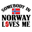 Somebody In Norway T-shirts