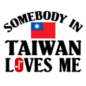 Somebody In Taiwan T-shirt