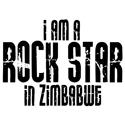 Rock Star In Zimbabwe T-shirts