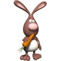 Cute 3D Rabbit