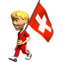 3D Switzerland T-shirt