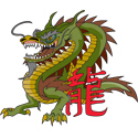 Beautiful Chinese Dragon T-shirt