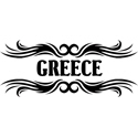 Tribal Greece T-shirt