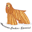 Cocker Spaniel T-shirt, Cocker Spaniel T-shirts