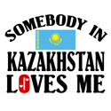 Somebody In Kazakhstan T-shirt