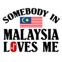Somebody In Malaysia T-shirt
