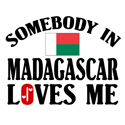 Somebody In Madagascar T-shirt