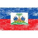 Vintage Haiti Flag