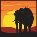 Sunset Elephant
