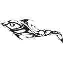 Tribal Dolphin Tattoo